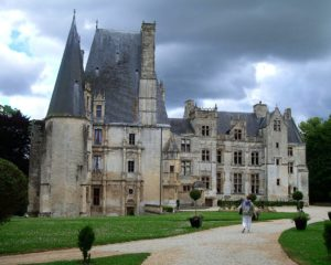 Norman castles and manor houses, France