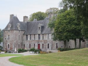 Norman castles and manor houses